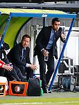 Nederland, Heerenveen, 21 mei 2015<br /> Seizoen 2014-2015<br /> SC Heerenveen-Feyenoord<br /> Giovanni van Bronckhorst bij zijn debuut als trainer van Feyenoord