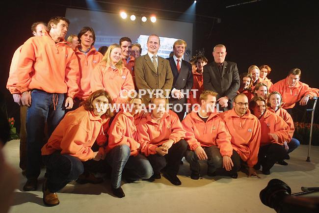 Arnhem, 080102<br />presentatie van de olympische ploeg voor de spelen in Salt Lake City.<br /><br />Foto: Sjef Prins / APA Foto
