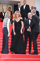 JULIA ROBERTS AND PIERRE LESCURE - RED CARPET OF THE FILM 'MONEY MONSTER' AT THE 69TH FESTIVAL OF CANNES 2016