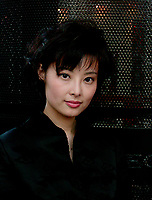 Montreal, 1999-09-01. Chinese actress Yuan Li who plays in the movie ``An Unusual Love`` by famous director Wu Tienming, exclusive photo during the World Film Festival in Montreal (Quebec, Canada)<br /> <br /> Photo : (c ) 1999  Pierre Roussel - Images Distribution