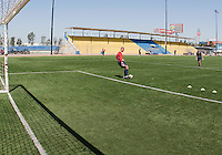 Earl  Edwards and Assistant Coach: Paul Grafer training before the 2009 CONCACAF Under-17 Championship From April 21-May 2 in Tijuana, Mexico