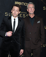 """October 12, 2021.Kieran Culkin, Alan Ruck attend HBO's """"Succession"""" Season 3 Premiere at the  American Museum of Natural History in New York October 12, 2021 Credit: RW/MediaPunch"""