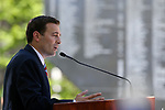 Nevada Attorney General Adam Laxalt speaks at the 21st annual Nevada State Law Enforcement Officers Memorial ceremony in Carson City, Nev., on Thursday, May 3, 2018. <br /> Photo by Cathleen Allison/Nevada Momentum