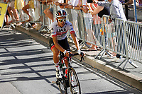 4th September 2020; Millau to Lavaur, France. Tour de France cycling tour, stage 7; Uae - Emirates Formolo, Davide arrives in Lavaur
