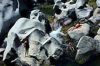 Baden im Golo bei Albertacce, Korsika, Frankreich