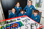 Scoil Eoin Balloonagh students having a look at the plans for new playground at the school on Tuesday.<br /> Seated l to r: Aybheann McCarthy, Jack Conway, Michael O'Keeffe, Clodagh and Lauren O'Dwyer.