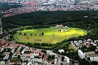 Galopprennbahn Scheibenholz  (26.06.2011)  !!! Luftbild 100% Honoraraufschlag !!! Foto: aif / Stefan Nöbel-Heise