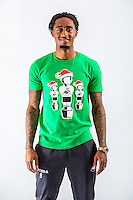 Wednesday 02 November 2016<br /> Pictured: Leroy Fer<br /> Re: Swansea City Christmas Photo shoot, Liberty Stadium, Wales, UK