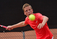 August 8, 2014, Netherlands, Rotterdam, TV Victoria, Tennis, National Junior Championships, NJK,  Stijn Janssen (NED)<br /> Photo: Tennisimages/Henk Koster