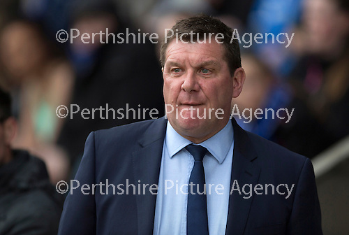 St Johnstone v Celtic...15.05.15   SPFL<br /> Tommy Wright<br /> Picture by Graeme Hart.<br /> Copyright Perthshire Picture Agency<br /> Tel: 01738 623350  Mobile: 07990 594431