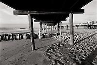 Underneath boardwalk. Sea Girt, NJ<br />