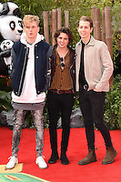 """The Vamps<br /> arriving for the """"Kung Fu Panda 3"""" European premiere at the Odeon Leicester Square, London<br /> <br /> <br /> ©Ash Knotek  D3093 06/03/2016"""