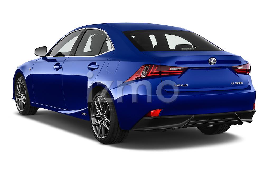 Car pictures of rear three quarter view of a 2015 Lexus IS F SPORT LINE 4 Door Sedan Angular Rear