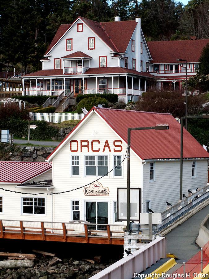 Orcas Ferry Landing, Orcas Island, Washington.