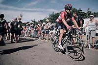 Tony Gallopin (FRA/Lotto-Soudal) rolling in<br /> <br /> 104th Tour de France 2017<br /> Stage 5 - Vittel › La Planche des Belles Filles (160km)