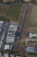 aerial photograph Sonoma Skypark Airport (0Q9), Sonoma, Sonoma County, California; Sonoma Skypark Airport is privately owned with one runway 8/26 that's 2480' x 40'.