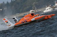 Hydros-PROP Seafair, Lake Washington, Seattle, Washington, USA 4 August,2002 .Miss Elam Plus competes at Seafair..Copyright©F.Peirce Williams 2002..F. Peirce Williams.photography.P.O. Box 455 Eaton, OH 45320 USA.317.358.7326  fpwp@mac.com