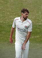 16th April 2021; Emirates Old Trafford, Manchester, Lancashire, England; English County Cricket, Lancashire versus Northants; Tom Bailey of Lancashire