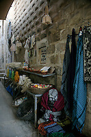 Soaps and scarves in a Mardin backstreet, southeastern Turkey