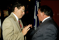 FILE - Clement Richard et Bernard Landry, mai 1996
