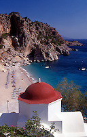 Greece. Dodecanese Islands. Kyra Panagia. Karpathos