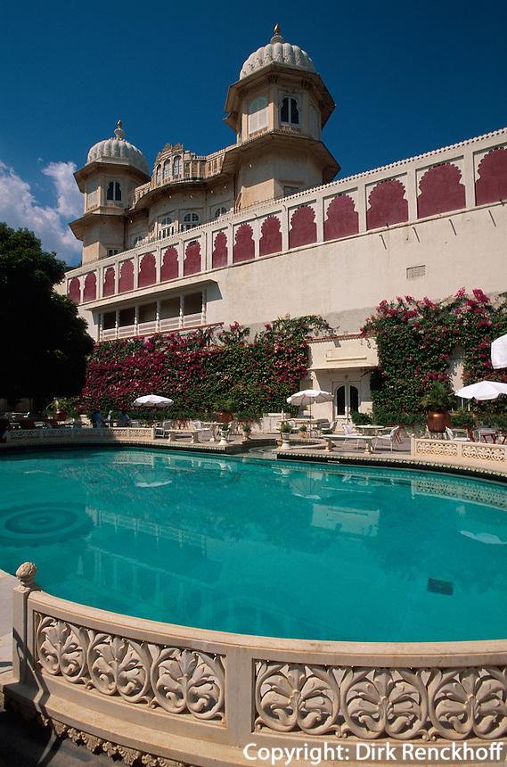 Indien, Udaipur, Palasthotel Shiv Niwas