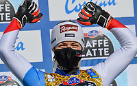 13th February 2021, Cortina, Italy; FIS World Championship Womens Downhill Skiing;   Lara Gut Behrami SUI Bronze Medal Cortina Beluno Italy