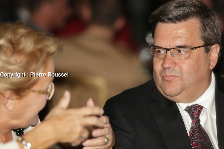Denis Coderre au<br /> 13 ieme Gala Phenicia , 25 mai 2017