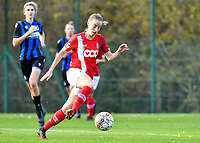 Charlotte Cranshoff of Standard (18) pictured during a female soccer game between Standard Femina de Liege and Club Brugge YLA on the seventh matchday of the 2020 - 2021 season of Belgian Scooore Womens Super League , saturday 14 th of November 2020  in Angleur , Belgium . PHOTO SPORTPIX.BE | SPP | DAVID CATRY