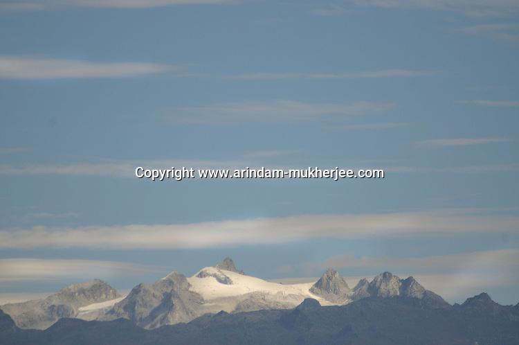 A view of a mountain peak from Bumthang, Bhutan. Arindam Mukherjee.