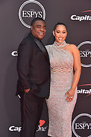 LOS ANGELES, USA. July 10, 2019: Tracy Morgan & Megan Wollover at the 2019 ESPY Awards at the Microsoft Theatre LA Live.<br /> Picture: Paul Smith/Featureflash