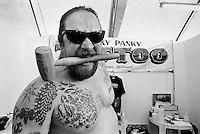 "- gathering of ""bikers"" motorcyclists, tattooing stodio....- raduno di motociclisti ""bikers"", tatuatore"