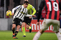 Paulo Dybala of Juventus FC in action during the Serie A football match between AC Milan and Juventus FC at San Siro Stadium in Milano  (Italy), January 6th, 2021. Photo Federico Tardito / Insidefoto