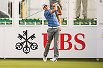 Chris Hanson of England tees off the first hole during the 58th UBS Hong Kong Open as part of the European Tour on 08 December 2016, at the Hong Kong Golf Club, Fanling, Hong Kong, China. Photo by Marcio Rodrigo Machado / Power Sport Images