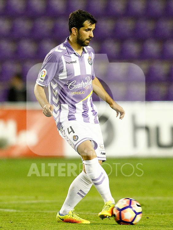 Real Valladolid's Alex Lopez during La Liga Second Division match. March 11,2017. (ALTERPHOTOS/Acero)