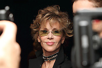 """Actress Jane Fonda arrives at a special screening of the film """"Mao's Last Dancer"""" in New York City."""