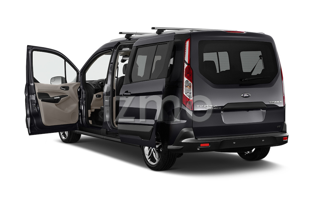 Car images of 2018 Ford Transit Connect Titanium 5 Door Mini Mpv Doors