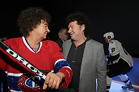 Photo d'archive - Robert Charlebois , Musee Grevin de Montreal, avril 2013.<br /> <br /> PHOTO :  Agence Quebec Presse <br /> <br /> <br /> <br /> <br /> PHOTO :   Agence Quebec Presse