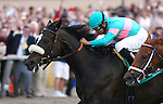 August 7th 2010: Zenyatta wins the Clement L. Hirsch Stakes(GI) under jockey Mike Smith at Del Mar Race Track in Del Mar CA.