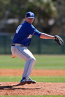 February 26, 2010:  Pitcher Collin McGowan (41) of the Seton Hall Pirates during the Big East/Big 10 Challenge at Raymond Naimoli Complex in St. Petersburg, FL.  Photo By Mike Janes/Four Seam Images