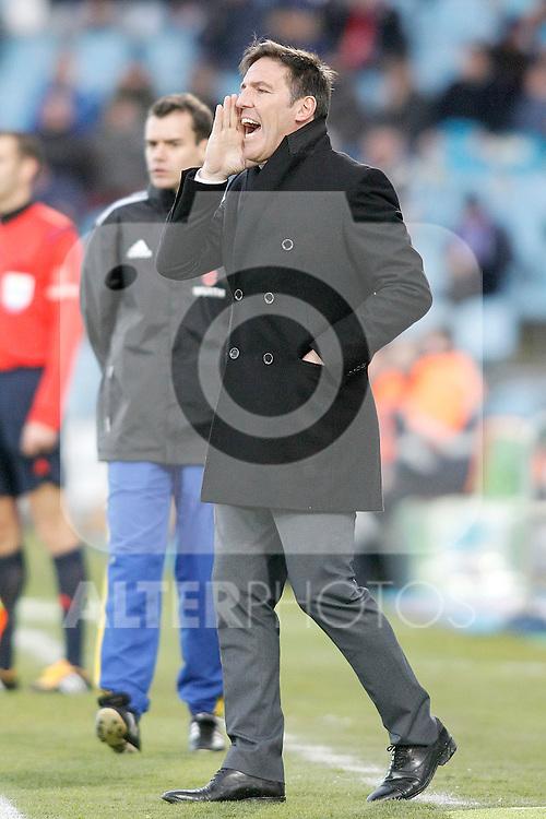 Celta de Vigo's coach Eduardo Berizzo during La Liga match. February 27,2016. (ALTERPHOTOS/Acero)