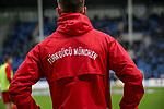 Der Aufsteiger Türkgücü München zu Gast im Carl Benz Stadion beim Spiel in der 3. Liga, SV Waldhof Mannheim - Türgücü München.<br /> <br /> Foto © PIX-Sportfotos *** Foto ist honorarpflichtig! *** Auf Anfrage in hoeherer Qualitaet/Aufloesung. Belegexemplar erbeten. Veroeffentlichung ausschliesslich fuer journalistisch-publizistische Zwecke. For editorial use only. DFL regulations prohibit any use of photographs as image sequences and/or quasi-video.