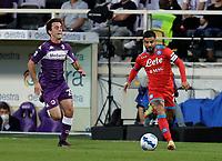 3rd October 2021; Franchi Stadium, Florence, Italy; Serie A football, Fiorentina versus Napoli : Lorenzo Insigne of Napoli