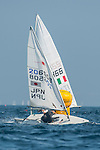Masaaki Taniguchi from Japan in action during the ISAF Sailing World Championships 2014 at the Real Club Maritimo of Santander on September 12, 2014 in Santander, Spain. Photo by Nacho Cubero / Power Sport Images