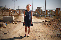 """12 year old Ahed Tamimi lives in Nabi Saleh, a village of around 500 people. When Jewish settlers appropriated the village spring five years ago, the people of Nabi Saleh began weekly protests. Two villagers have been killed, and around 350 – including large numbers of children – injured. Ahed was shot in the wrist by a rubber bullet. At least 140 people from Nabi Saleh have been detained or imprisoned as a result of protest activity, including 40 minors. Bassem Tamimi, Ahed's father, has been jailed nine times - four times since his daughter's birth - and was named a """"prisoner of conscience"""" by Amnesty International; Nariman, Ahed's mother has been detained five times since the protests began; her older brother, Waed, was arrested. Ahed's uncle, Rushdie Tamimi, died two days after being shot by soldiers in November last year. Photo by Quique Kierszenbaum"""