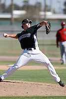 Aaron Weatherford - Colorado Rockies - 2009 spring training.Photo by:  Bill Mitchell/Four Seam Images