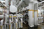 High pressure hot water piping
