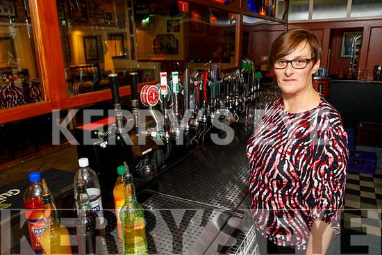 Fiona Kirby in the Brogue Inn on Thursday.