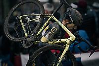 Quinten Hermans (BEL/Telenet Fidea Lions)<br /> <br /> Elite Men's race<br /> UCI CX World Cup Namur / Belgium 2017