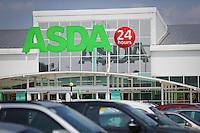 ASDA supermarket - shop entrance